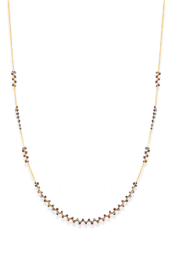 Isabel Marant - Set Of Two Gold Tone Beaded Necklaces