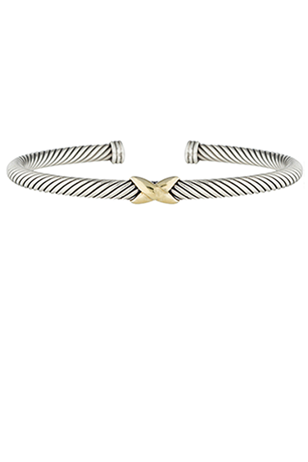 David Yurman - X Bracelet (4mm)