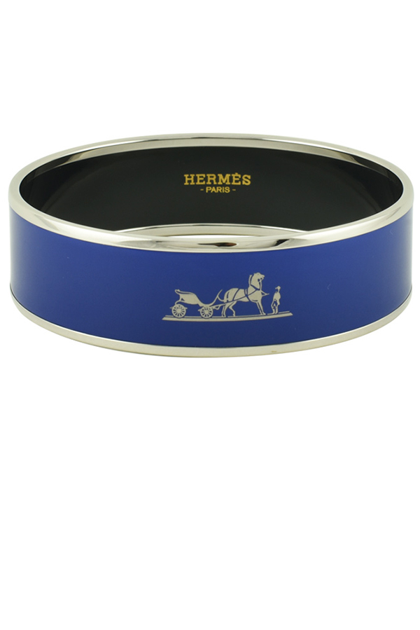 Hermes - 102624637_Switch Jewelry Hermes Caleche Bracelet Blue jpg
