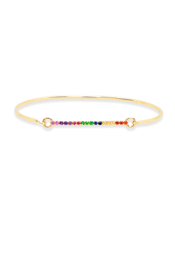 Do Not Disturb - 1044558685_Switch Jewelry Do Not Disturb The Amalfi Wire Bracelet  14k Yellow Gold and Semi Precious Stones  jpg