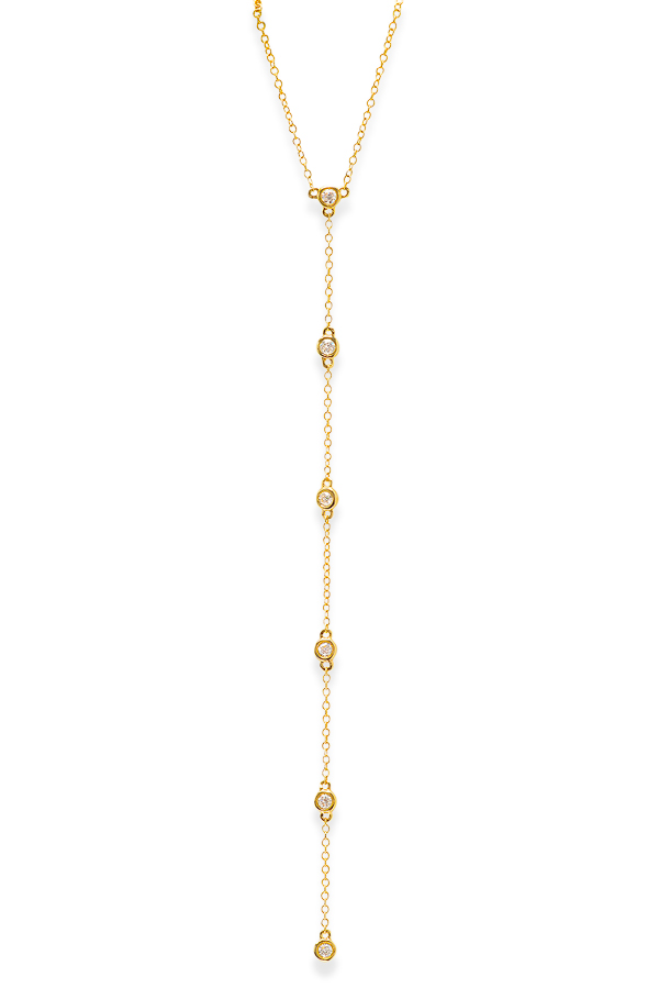 Do Not Disturb - The Castile and Leon Necklace (14k Yellow Gold and Diamonds)