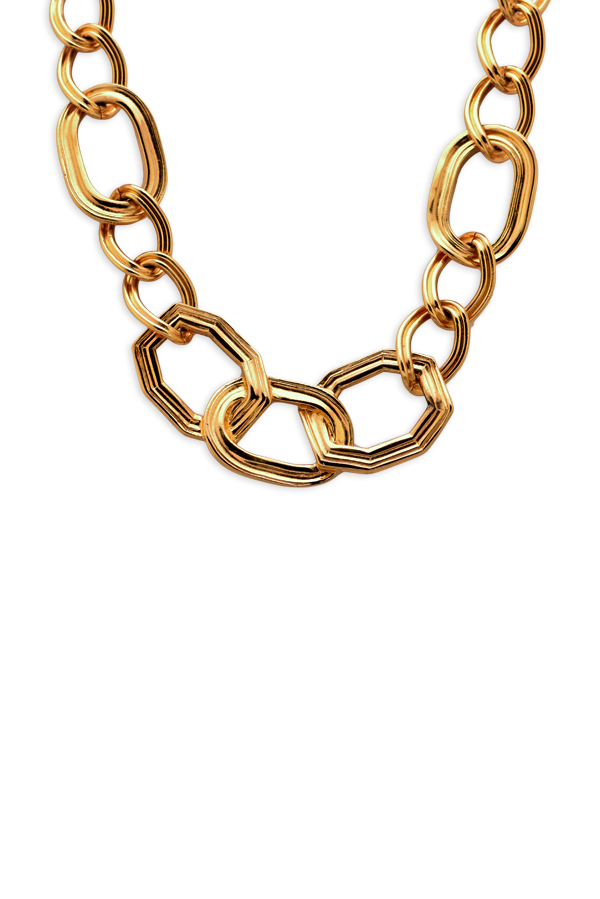 Yves Saint Laurent - Geometric Choker Necklace View 1