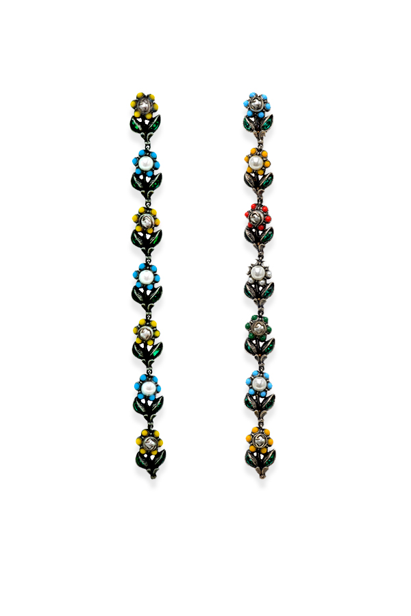 Gucci - 1111453413_Switch Jewelry Gucci Daisy Crystal Drop Earirngs jpg