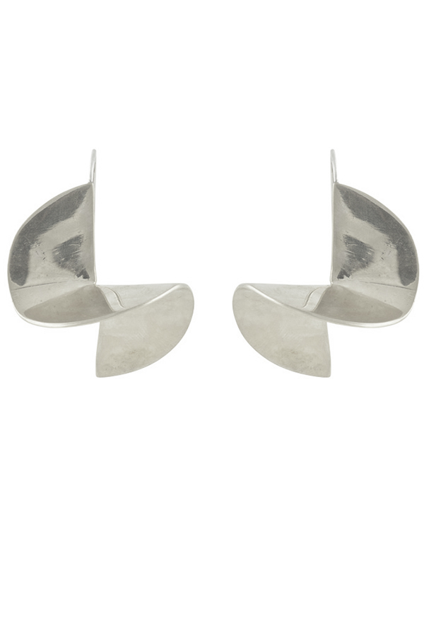 Odette - Pivot Earrings (Silver)