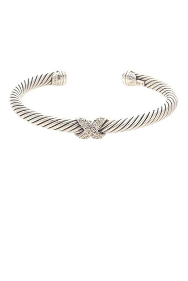 David Yurman - 1119592729_Switch Jewelry David Yurman X bracelet  diamonds  jpg