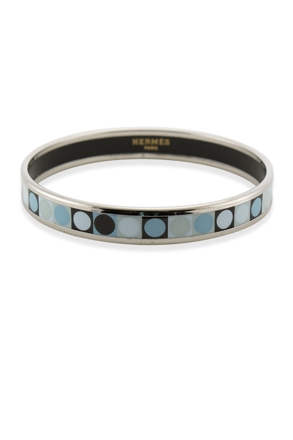 Hermes - 1136758760_Switch Jewelry Hermes Narrow Enamel Bangle  Dots  jpg