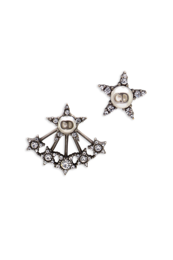 Christian Dior - Crystal Star Earrings View 1