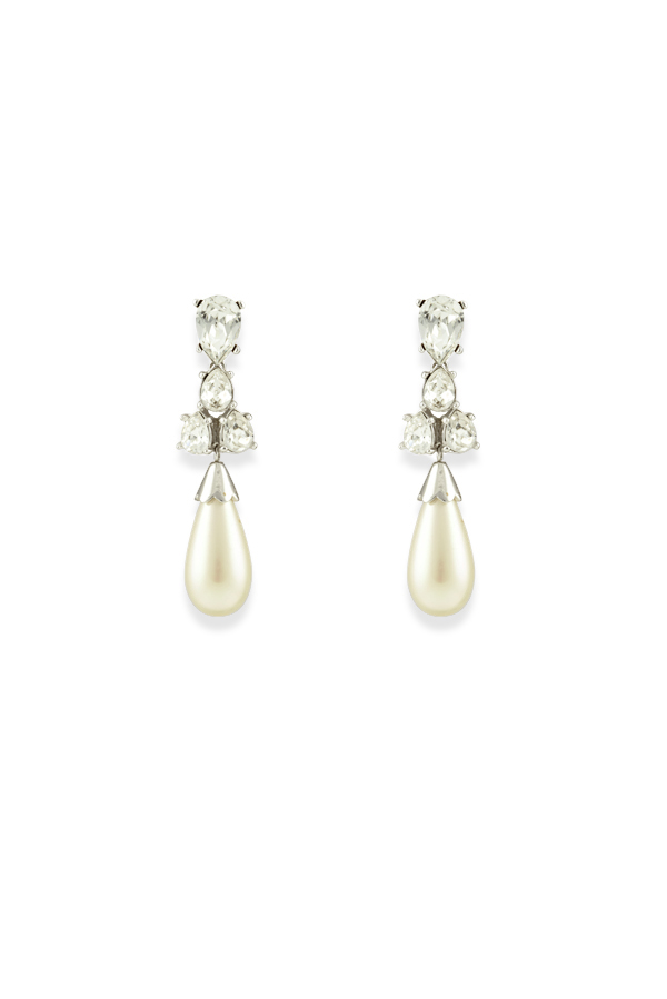 Christian Dior - Pearl Drop Statement Earrings View 1