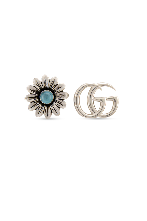 Gucci - Double G Flower Stud Earrings