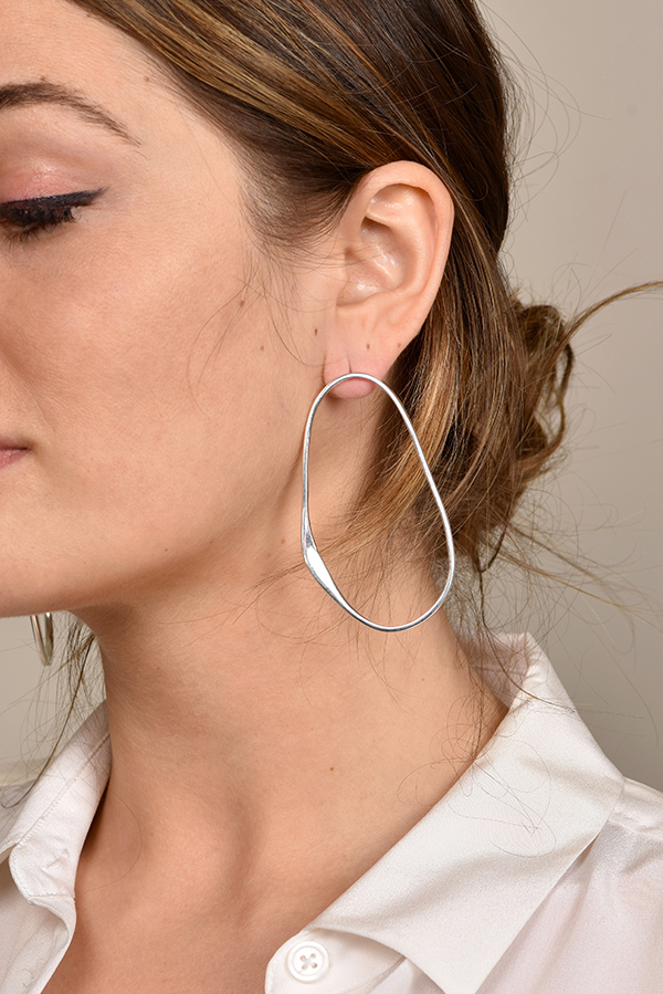 Rebecca Pinto - Arp Earrings (Sterling Silver)