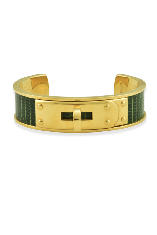 Hermes - Kelly Cuff (Green)