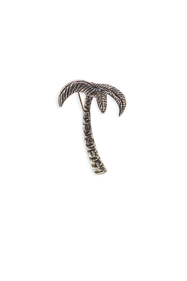Yves Saint Laurent - Hawaii Palm Tree Silver Brooch