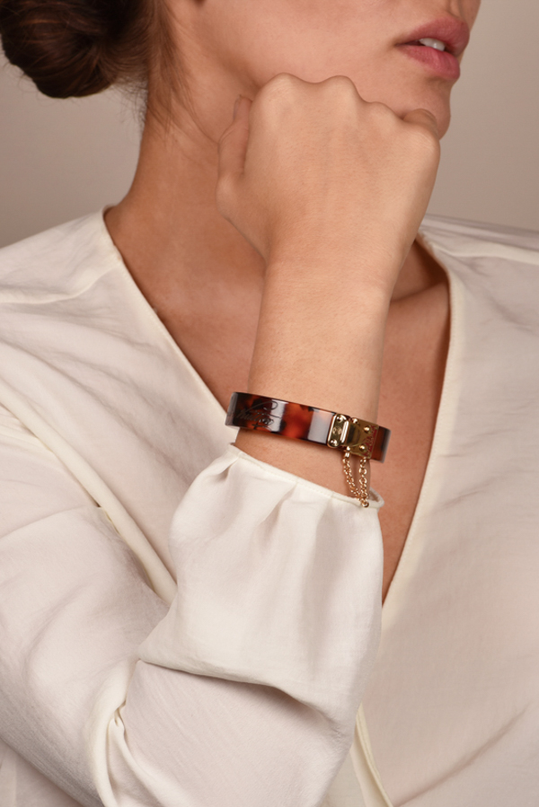 Louis Vuitton - Resin Lock Me Bracelet