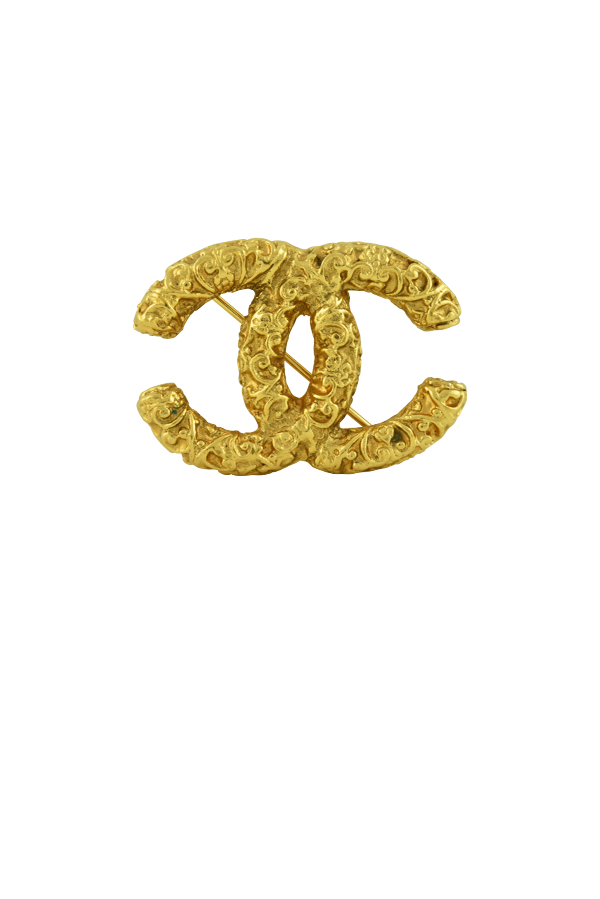Chanel - 1179508376_Switch Jewelry Chanel Textured CC Logo Brooch jpg