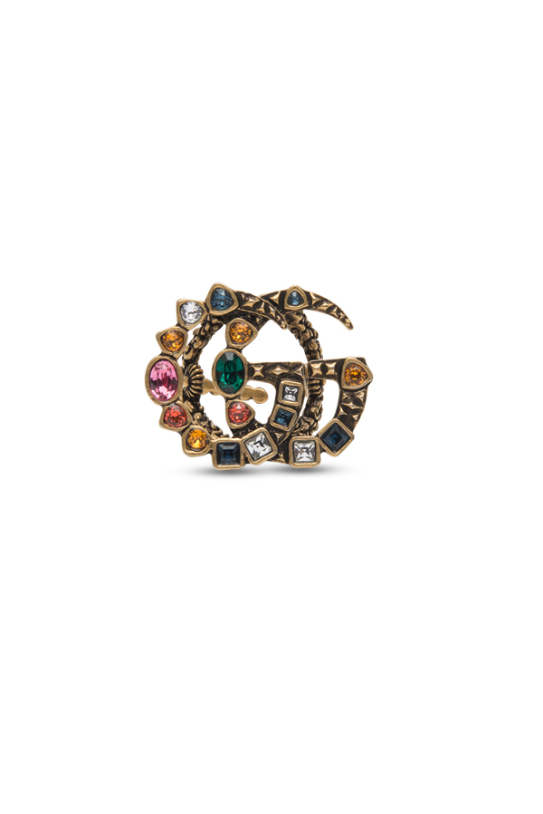 Gucci - 1227713946_Switch Jewelry Gucci Double G Multi Color Crystal Ring jpg