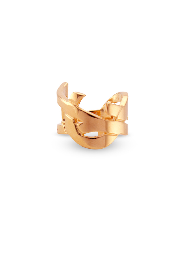 Yves Saint Laurent - 1234748876_Switch Jewelry YSL Yves Saint Laurent Monogram Ring  Rose Gold  jpg
