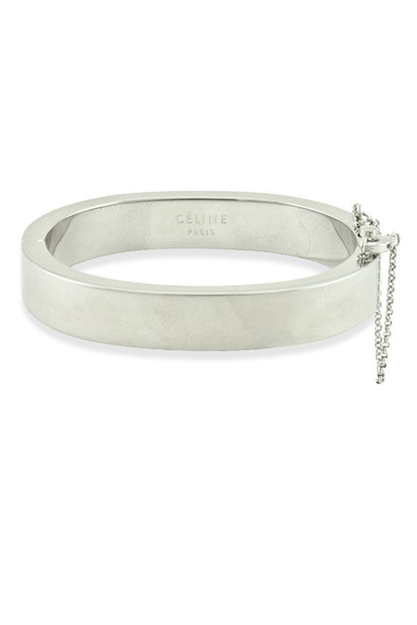 Celine - Security Chain Lock Bracelet  Silver  View 1