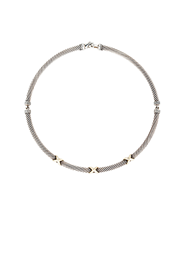 David Yurman - Triple X Cable Necklace
