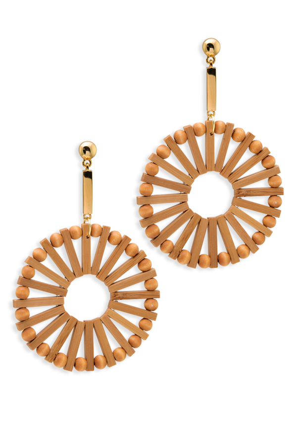 Cult Gaia - Eva Earrings - Natural