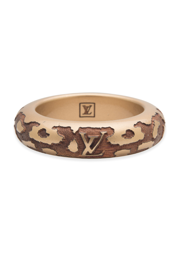 Louis Vuitton - 1273792504_Switch Jewelry Louis Vuitton Brown Wood Leomonogram Bangle jpg