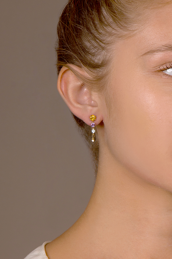 Do Not Disturb - The Tuscany Earrings (14k Yellow Gold)