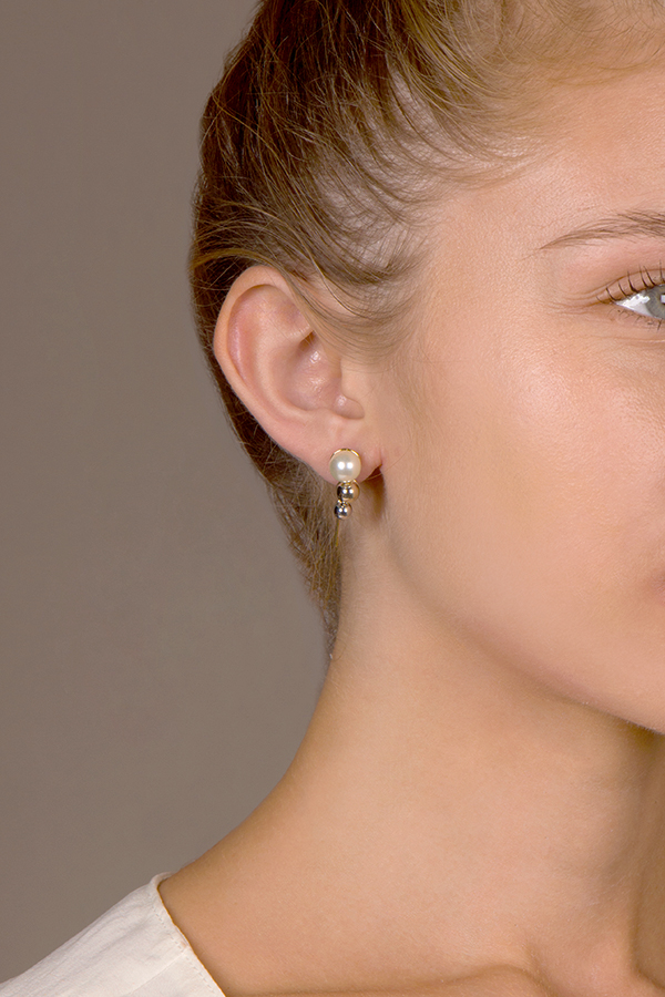 Christian Dior - Double Tribale Earrings