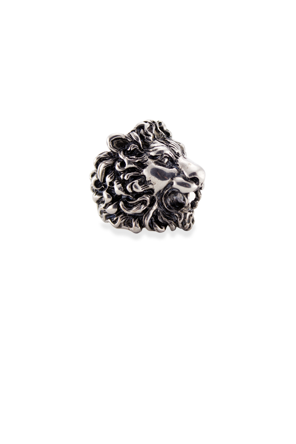 Gucci - Lion Head Ring (Silver) - Size 6.5