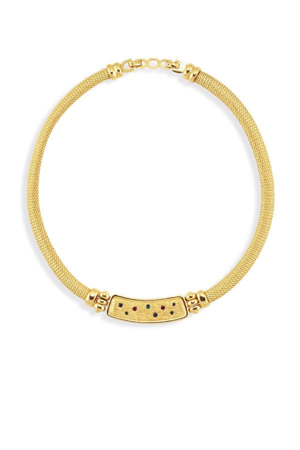 Christian Dior - 1305805465_Switch Jewelry Christian Dior Vintage Crystal Collar Necklace jpg