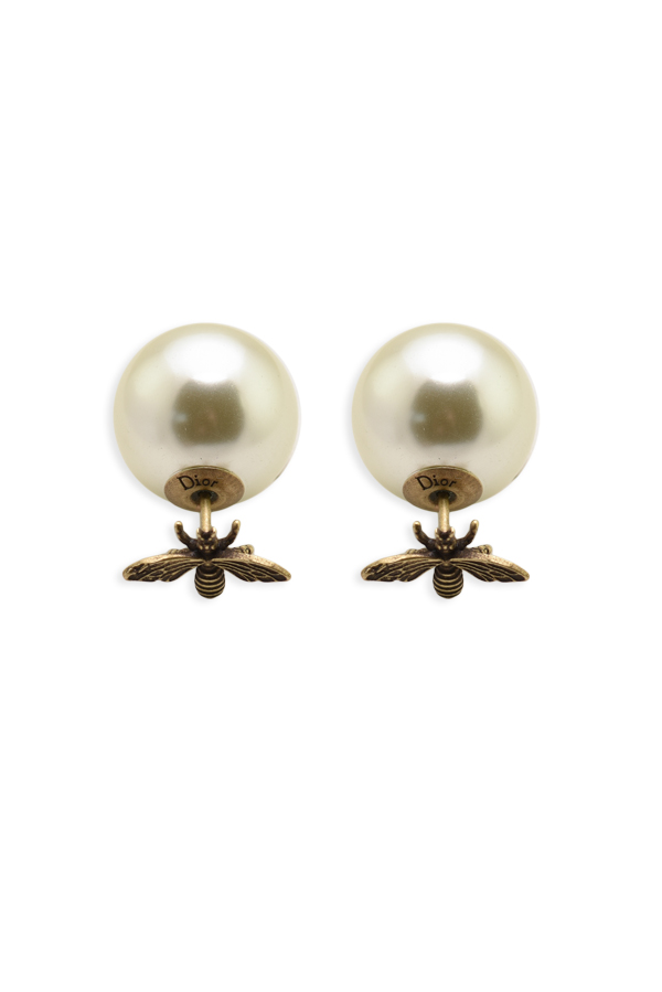 Christian Dior - Tribale Bee Earrings - Gold