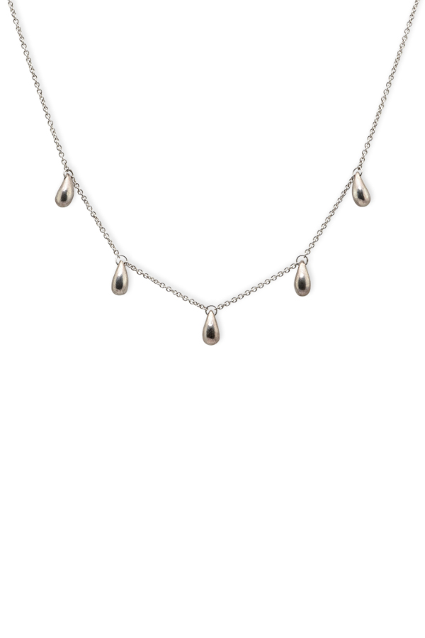 Tiffany & Co. - Five Teardrop Station Necklace
