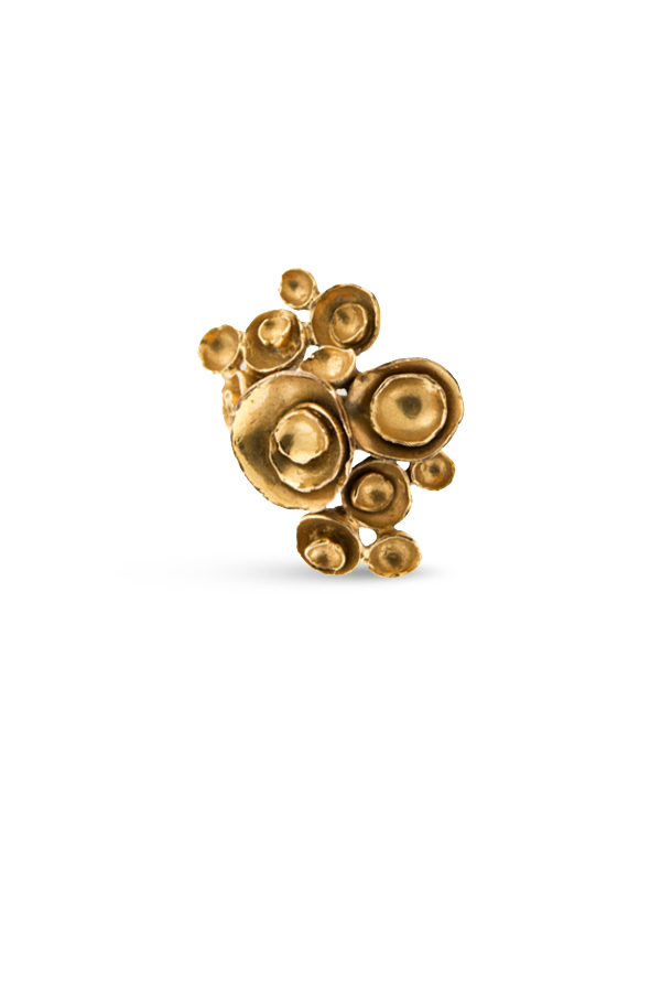 Yves Saint Laurent - Arty Flower Ring   Size 6 View 1