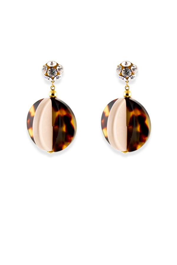 Rachel Comey - Holt Earrings (Pink Tortoise)
