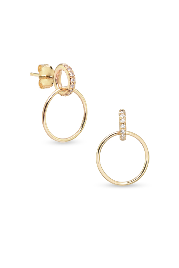 White/Space - Vita Pavé Hoops
