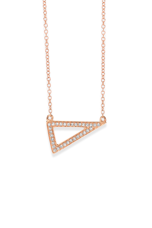 Do Not Disturb - The Los Cabos Necklace (14k Rose Gold and Diamonds)