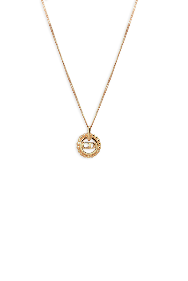 Christian Dior - Small CD Logo Gold Chain Necklace