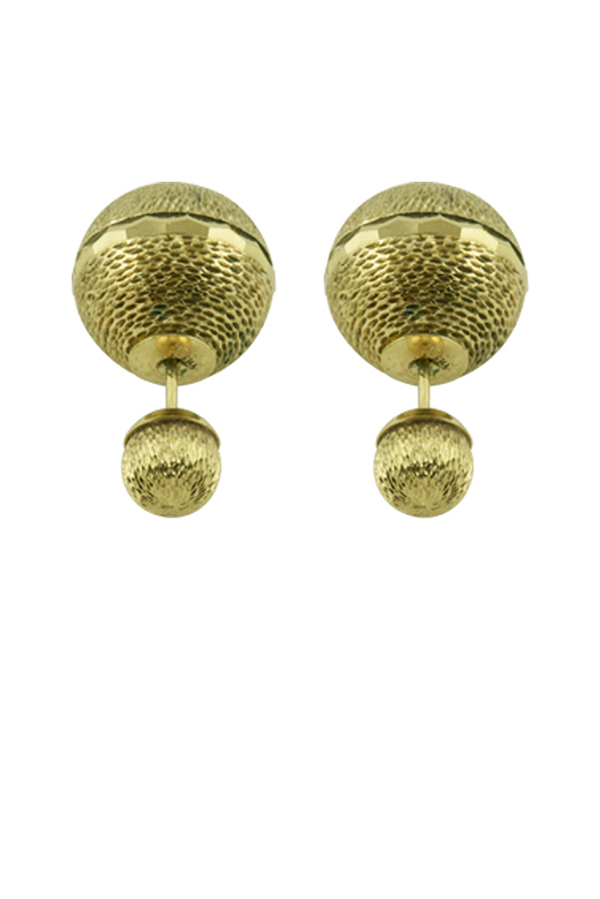 Christian Dior - 1417762535_Switch Jewelry Dior Tribale Earrings  Textured Gold  jpg