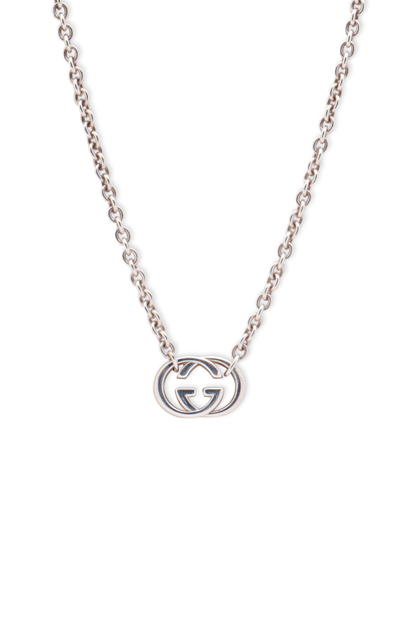 9ab4b47b3 Gucci Interlocking G Pendant Necklace | Rent Gucci jewelry for $29/month