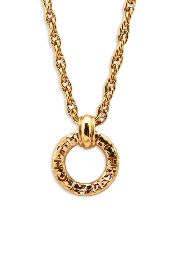 Chanel - Vintage Chanel Cut Out Necklace
