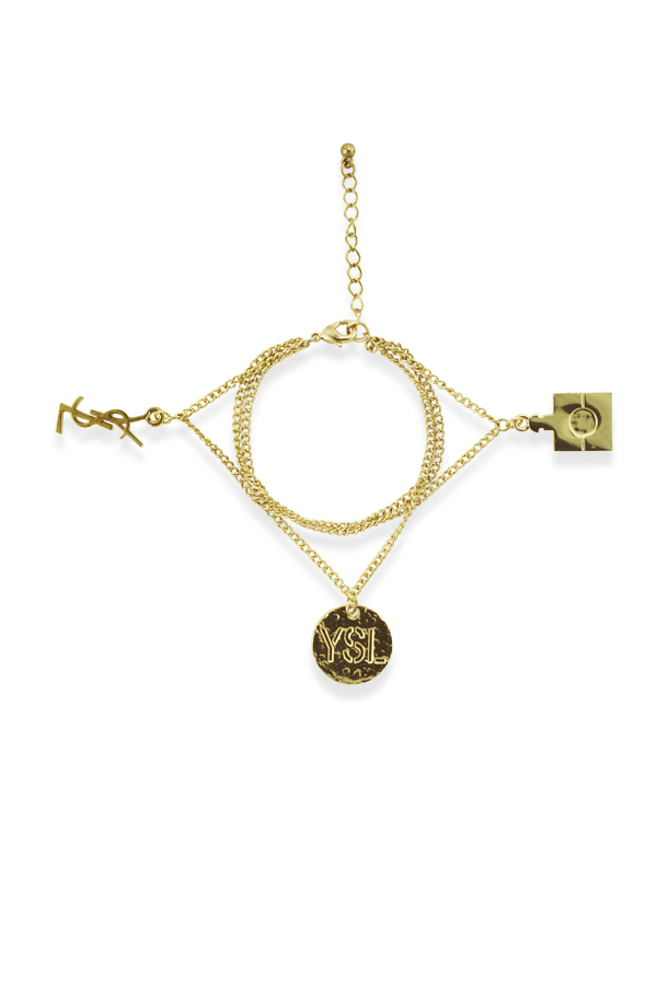 Yves Saint Laurent - 1442959387_Switch Jewelry Yves Saint Laurent Logo Vintage Round Logo And Square Perfume Charm Bracelet jpg