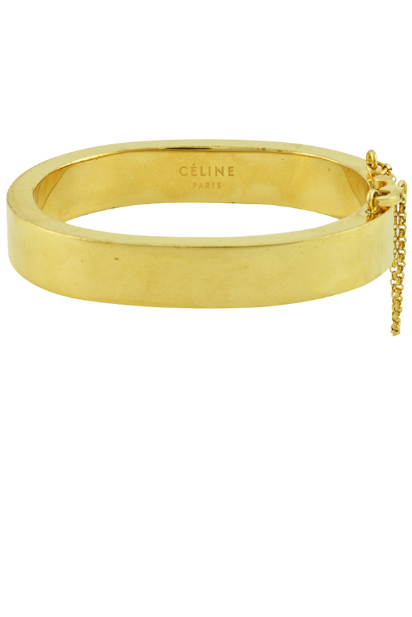 Celine - Security Chain Lock Bracelet (Gold)
