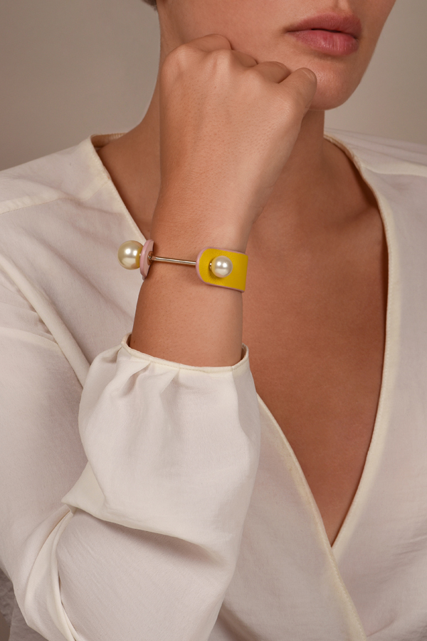 Christian Dior - Perle Bracelet  Pink Yellow  View 2