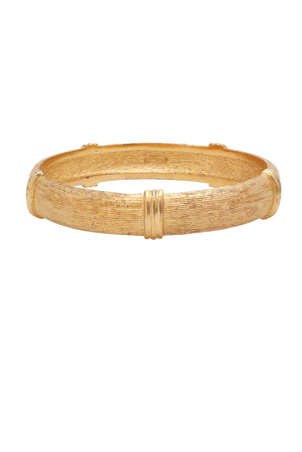 Christian Dior - Vintage Textured Bangle View 1