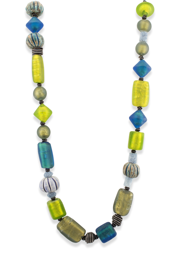 Yves Saint Laurent - Glass Beaded Necklace