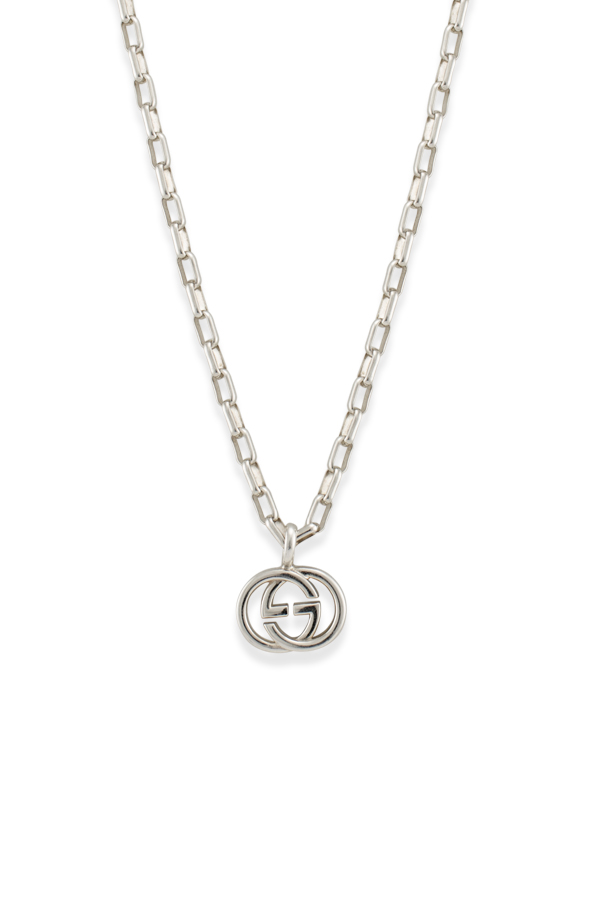 Gucci - Interlocking G Pendant Necklace