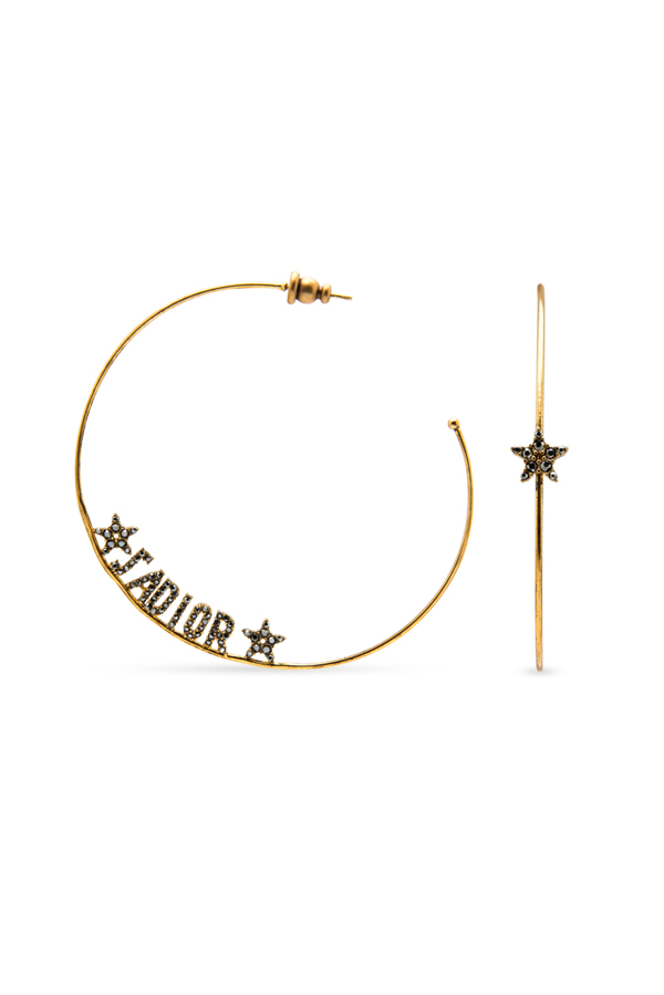 Christian Dior - Jadior Asymmetric Hoop Earrings