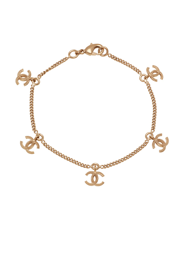 Chanel - CC Logo Chain Bracelet View 1