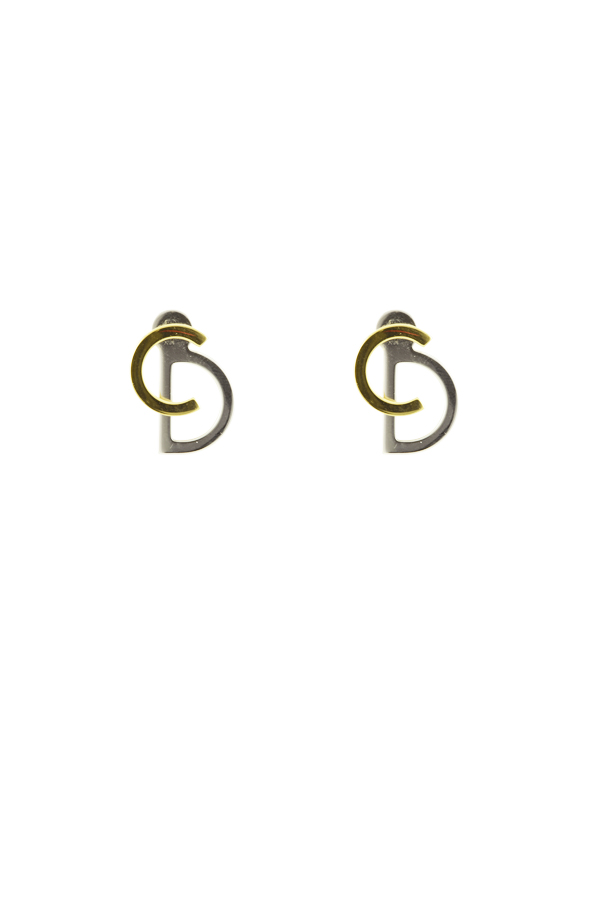 Christian Dior - 1502175070_Switch Jewelry Christian Dior Switch Jewelry Christian Dior Your Dior Logo Earrings 2 jpg