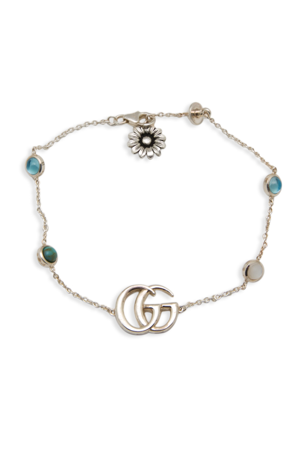 Gucci - 1505091185_Switch Jewelry Gucci Marmont Double G And Daisy Bracelet jpg