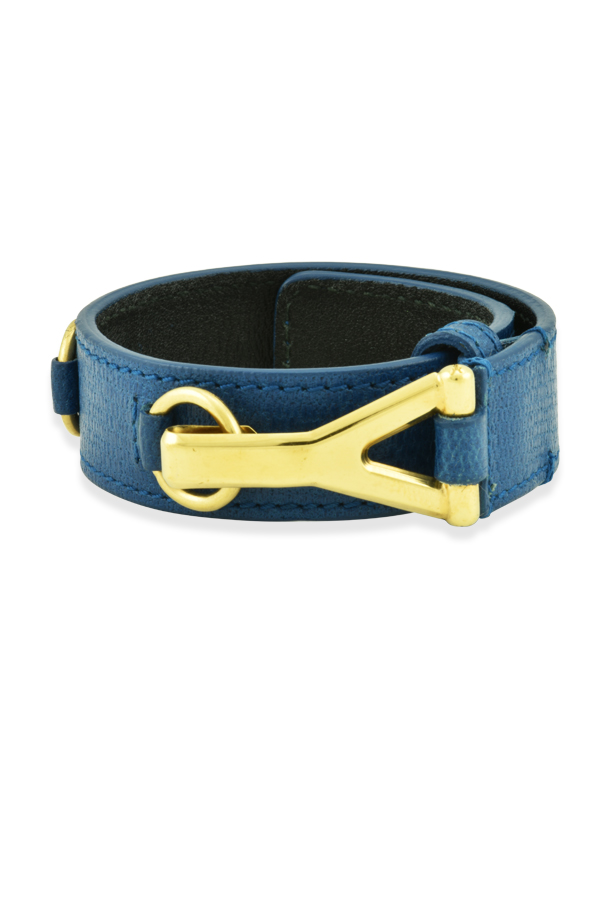 Yves Saint Laurent - Leather Y Bracelet