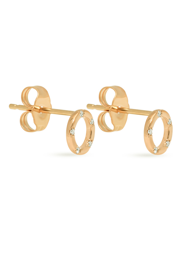 Switch - 1524077970_Switch Jewelry Simple Circle Studs  18k Yellow Gold  jpg